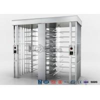 Best Automatic Security Full Height Turnstile Double Lane With Impact Resistance wholesale