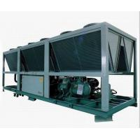 Best R22 Anti - Explosion Compact Air Cooled Screw Compressor Chiller LCD Touch Screen wholesale