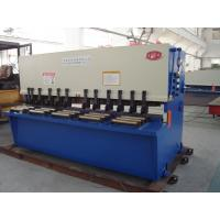 Quality Fully Automatic Guillotine Shearing Machine / Sheet Metal Shear wholesale