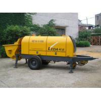 Best Stationary Trailer Mounted Concrete Pump HBT80.13.110S With Motor Power wholesale