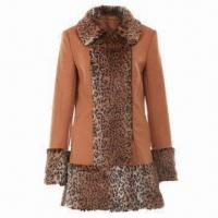 China Women's Fake Fur Coat, Various Colors and Sizes are Available on sale