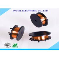 Best Black Plastic Vertical Bobbin Coil , Copper Wire Toroid Bobbin Winding wholesale