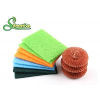 Best Copper Wire Mesh Metal Dish Scrubber Effective To Remove Stubborn Stains wholesale