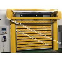 Best Aluminum Extrusion Profiles Fire Rated Roller Door Fireproofing Lift Door With Electric Openers wholesale
