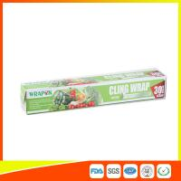 Best Food Grade PE Food Packing Plastic Wrap , Stretch Wrap Film For Kitchen wholesale