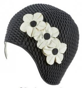 Cheap Sheridan Retro Floral Swim Cap for sale