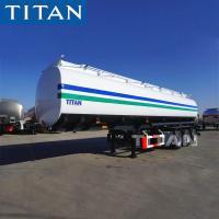 Best TITAN 45000 50000 and 60000 liters capacity fuel transport trailers for sale wholesale
