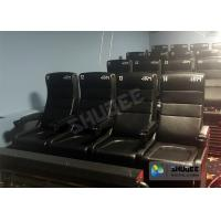 Best Large Screen 4D Cinema System With Comfortable Pure Hand-Wrapped PU Leather Motion Seats wholesale