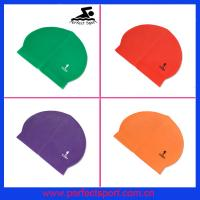 Best Personalized Logo Silicone Latex Swim Caps for Summer Seaside wholesale