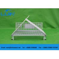 Steel Structure Warehouse Foldable Galvanized Industrial Storage Cage
