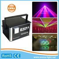 China 10w RGB Full Color 3D Animation laser lighting Professional Stage Laser Show Light on sale