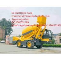 Best self loading concrete mixer with Cummins engine self-loading concrete mixer truck for sale with 4M4 wholesale