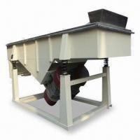 Buy cheap Linear Vibrating Screen with SUS 304, Low Energy Consumption, High Efficiency from wholesalers