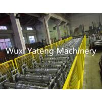 Quality Galvanized Steel Floor Deck Roll Forming Machine 28 Roller Station Customised Size wholesale