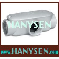 China T type EMT conduit fitting Rigid conduit body on sale