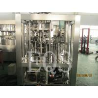 Best Twist Off Cap Craft Beer Bottling Line , Stainless Steel Bottle Beer Production Line wholesale