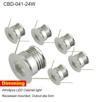 Cheap mini high quality saving energy dimmable round set led cabinet light 24w for sale