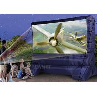 Best Lightweight Inflatable Outdoor Projector Screen Fabric Material Apply To Home wholesale