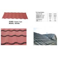 Best Long Span Aluminium Roofing Sheets Nigeria Color Stone Chip Coated 1300mm Length wholesale