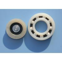 Best POM / PA66 High Precision Plastic Plain Bearings With Glass Stainless Balls wholesale