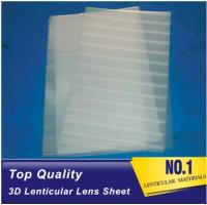 Best Plastic Lenticular super transparent thin161lpi 0.25mm PET 3d lenticular lens plastic sheet film for UV offset prining wholesale