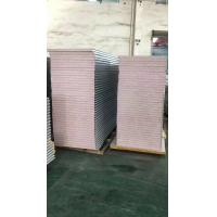 China metal fireproof interior 50mm modified eps sandwich wall panel for warehouse on sale