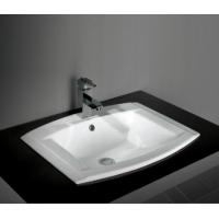 Cheap best selling unique design eco-friend bathroom Ceramic under counter art Basin for sale