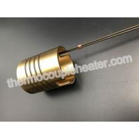 Best Hot Runner Brass Coil Heaters 230V 350W With Thermocouple J PTFE Leads wholesale