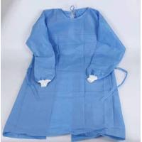 Best Blue One Piece Hospital Isolation Gown Good Toughness High Durability Not Easy Aging wholesale