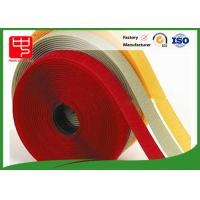 Cheap 10mm - 180mm Hook And Loop Tape For Sewing , White 100% Eco - Friendly for sale