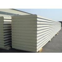 China Insulated Polyurethane Sandwich Panels Polyurethane Foam Wall Panels For Clean Rooms on sale