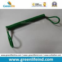 Best Great Dark Green Plastic Retractable Lanyard Leash W/Loop Ends wholesale