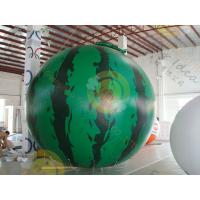 Best customized Inflatable helium fruit product balloon,  including 4m Watermelon / cherry / apple for sales promotion wholesale