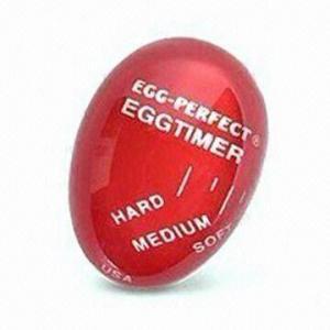Best Egg-shaped Changing Color Timer, Measures Ø8.5 x 18cm, Food Safe, Made of Resin wholesale