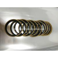 Best Coffee And Golden Color Hydraulic Piston Seals PTFE + Bronze + NBR / Cylinder Seal Kit wholesale