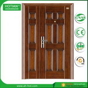 Best main entrance bullet proof steel door wholesale