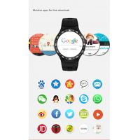 Cheap 1.33 ONCELL Full Round Screen Android Smart Watch Phone with 8GB ROM 5.0 MP Camera GPS for sale