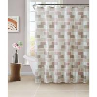 Best Mildew Resistant Anti Bacterial Shower Curtain Recyclable For Hotel Rooms wholesale