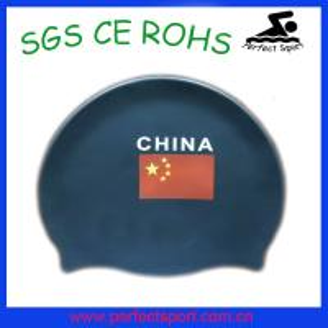 Best High quality Soft swim caps / silicon swim cap wholesale