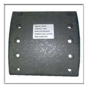 Best truck brake lining,drum brake lining WVA19094, brake parts,brake liner,brake blocks wholesale