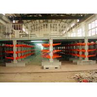 Quality Industrial Orange Extra Heavy Duty Cantilever Racks For Plywood / Furniture Parts wholesale