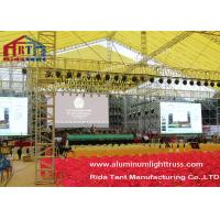 Indoor Event Stage Lighting Truss Non - Toxic Hanging Lights Strong Loading Capacity
