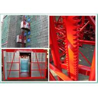 Quality Building Site Rack And Pinion Elevator Hoisting Equipment Frequency Control wholesale