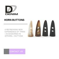 China Fashion Horn Plastic Buttons for Sweater & Coat on sale