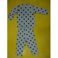 Best Rayon Spandex Children'S Cotton Pajamas Polka Dot Pajama Set Playwear 2pc wholesale