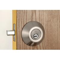 Best Stainless Steel Metal Sliding Door Locks Single Cylinder Deadbolt 3 Same Brass Keys wholesale
