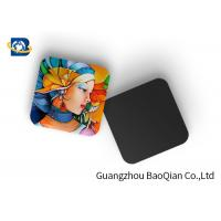 Best Mini 3D Personalised Tea Coasters / Cup Coasters , Custom Square Coasters Printing Placemat wholesale