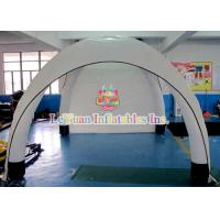 Cheap Custom White Airtight Tent For Sporting Events / Inflatable Dome Tent Advertise for sale
