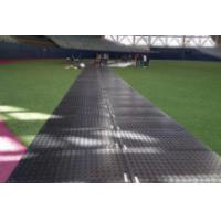 temporary road track mat for light duty ground protection equipment/composite mat system