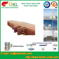 Best Low Pressure Boiler Super Heater Alloy Steel , Pendant Superheater Customized wholesale